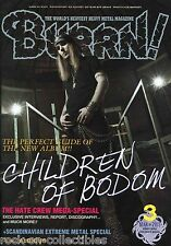 Burrn! Heavy Metal Magazine March 2011 Japan Children of Bodom Liv Moon