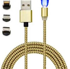 USB Charging Cable Magnetic Adapters, Lightning iPhone, Type-C & Micro Adapter.