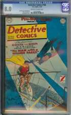 DETECTIVE COMICS #166 CGC 8.0 OW/WH PAGES