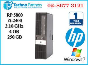 HP RP5800 Retail POS System Core i5-2400 4GB 250GB Windows7 Pro 1 Year Warranty