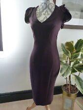 STUNNING AUTHENTIC KAREN MILLEN  WIGGLE DRESS SIZE 10