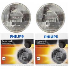 Philips High Low Beam Headlight Light Bulb for Bentley Turbo R 1988-1998 - nq