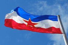Novo , Zastava Jugoslavija Srbija Hrvatska Bosna Slovenija Yugoslavia Flag