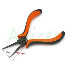 Metal Flat Long Nose Pliers Jeweler Beading Craft Plier Hand Tool 5.5 Inch