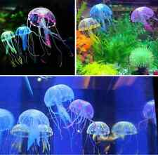 Simulation Jellyfish for Aquarium Fish Tank Ornament Bath Decoration Swim Pool