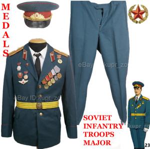 Soviet OFFICER'S parade uniform Major Infantry Troops Soviet Army 1
