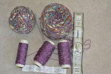 Sewing Knitting Novelty Yarn - Multi-piece LOT - CHEAP - FREE SHIP - FANTACIA