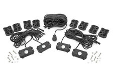 ROU 70980 ROUGH COUNTRY DELUXE LED ROCK LIGHT KIT - 4 PODS