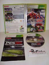PES 2011 PRO EVOLUTION SOCCER SOCCER XBOX 360 VERSIONE ITALIANA! USATO SICURO!