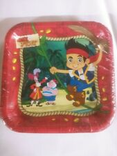 Jake and Never Land Pirates 8 count dessert cake plates BirthdayFree Shipping