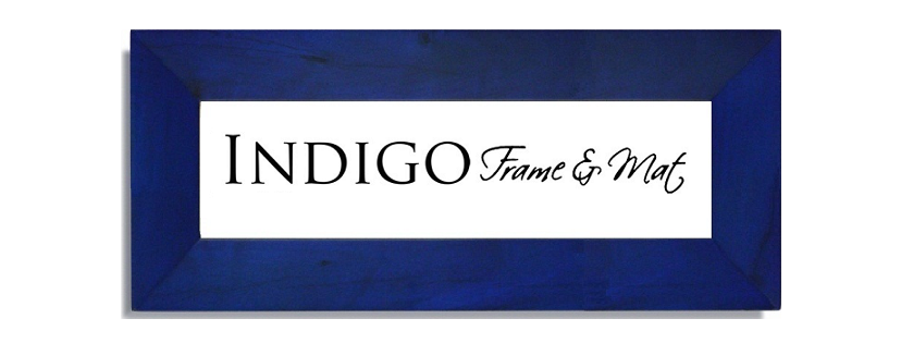 Indigo Frame and Mat