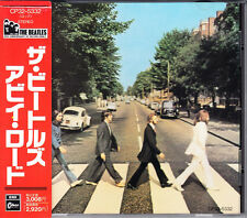The Beatles Abbey Road 1988 Japan CD Early Press With Obi CP32-5332 HTF Rare