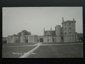 Gloucestershire Bristol THORNBURY CASTLE West - Old RP Postcard by D.H. Poole