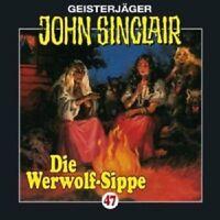 JOHN SINCLAIR: FOLGE 47 - DIE WERWOLF-SIPPE (TEIL 1 VON 2) CD NEU