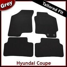 Hyundai Coupe Mk2 2002 ... 2007 2008 2009 Tailored Fitted Carpet Car Mats GREY