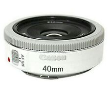 Canon EF 40mm f/2.8 STM Pancake Lens (Bulk Package) - White  Express ship