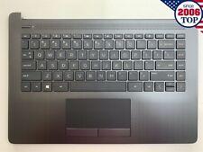 NEW HP 14-CK 14-CM14-DG Palmrest w/ Keyboard Touchpad L23491-001 L23241-001