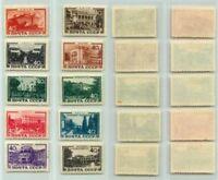 Russia USSR 1949 SC 1366-1375 Z 1332-1341 mint . rta6216
