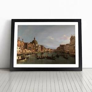 Giovanni Canaletto Grand Canal, Venice Framed Picture Print Home Décor Wall Art
