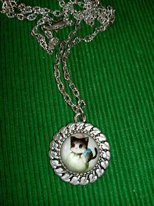 Modeschmuck Kette / Katze