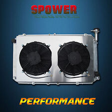 3 ROW For Ford Maverick DA Petrol Aluminum Radiator + 120W Fan Shroud 1988-1995