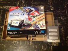 Nintendo Wii U 32GB Mario Kart 8 bundle Packaging (BOX, INSERTS & MANUAL)