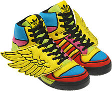 RARE~Adidas JEREMY SCOTT WINGS JS OBYO Sneakers CHENILLE Shoes teddy~Mens sz 8.5
