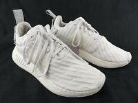 Adidas NMD R2 W Triple Core White BY2245 Women's Size 7.5