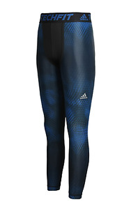 Adidas Men Techfit Compression Long Tights Pants Sports Running Fitness AJ4946