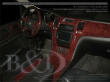 Dash Trim Kit for CADILLAC ESCALADE 11 12 13 14 carbon fiber wood aluminum