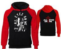 Tupac Hoodies All Eyez On Me 2Pac Sweatshirts Tupac Hooded Hip Hop Hoodie