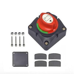 12-24V KFZ Batterie Trennschalter Hauptschalter Auto Notaus Poltrenner Schalter