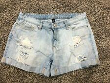 Gap Denim Shorts Sz 6/28 *Sexy Boyfriend Short* 100% Cotton Ripped FUN!
