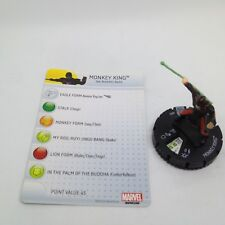Heroclix Fear Itself set Monkey King #003 Common figure w/card!