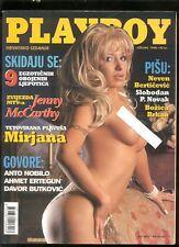 CROATIA PLAYBOY  No.: 10  / 1998   JENNY MC CARTHY