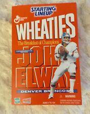 Hasbro 2000 NFL Wheaties Starting Lineup - John Elway - Denver Broncos