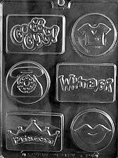 K116 Kool Kids Soap Mold Chocolate Candy Mold w/instructions