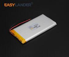 3.7V 6000mAh 7256110 Li-Po Polymer Rechargeable Li Battery For GPS Tablet PC DVD