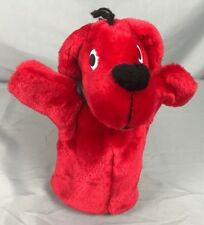 CLIFFORD The BIG Red DOG Hand Puppet stuffed animal plush Scholastic Merrymakers