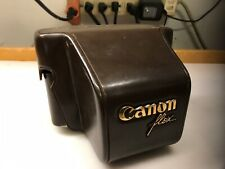 Vintage Canon Canonflex Leather Case - FREE SHIPPING