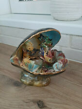 Lampe moule coquillage  Poisson VALLAURIS vintage An 70 's