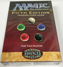 5th Edition 2-Player Starter Decks MTG Sealed English Fifth Magic City of Brass