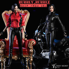 """1/6 Ada Wong Resident Evil Leather Jacket Accessories Set For 12"""" PHICEN Figure"""
