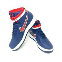 Nike Air Force 1 High 07 LV8 Sport NBA AF1 Midnight Navy White Red Men Size 9.5