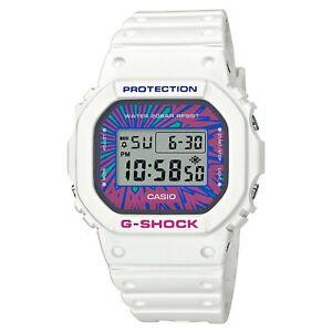 Casio G-Shock Digital Multicolour Dial Resin Bracelet Watch DW-5600DN-7ER
