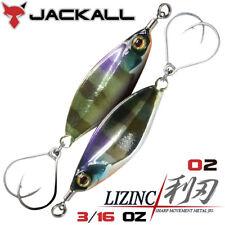 Jackall LIZINC 3/16 OZ Metal Jig color 02 HL BLUE GILL