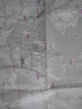 Brandenburg an der Havel Bodenrichtwertkarte 1:25.000 Stadtplan 1998 Landkarte