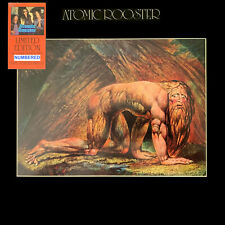 "FREE12"" REPRO w/ATOMIC ROOSTER DEATH WALKS BEHIND YOU180g Number Orange Vinyl Lp"