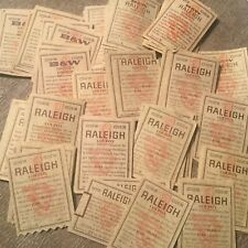 RALEIGH AND B&W BROWN & WILLIAMSON VINTAGE CIGARETTE COUPONS - LOT OF  250+