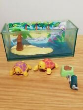 Vintage Kenner Littlest Pet Shop Toddling Turtles Paradise Island Rare